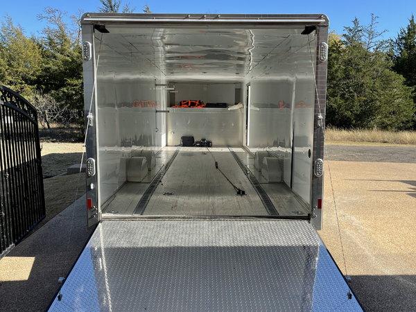 38' Alum Enclosed Car Hauler  for Sale $26,500
