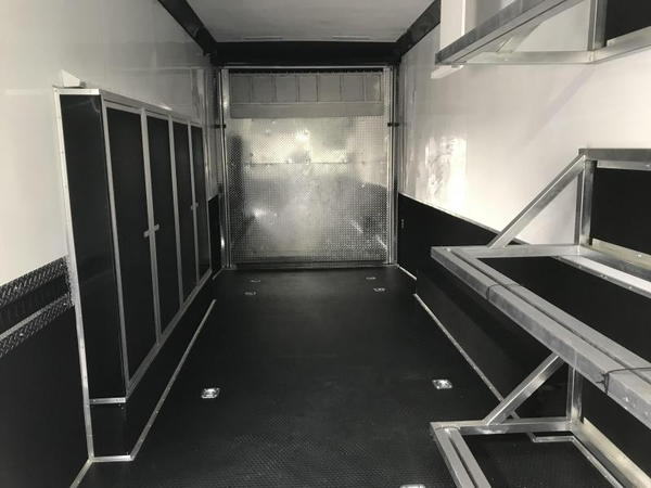 2019 United Trailers 8.5X28 SPRINT CAR TRAILER....STOCK# UN-