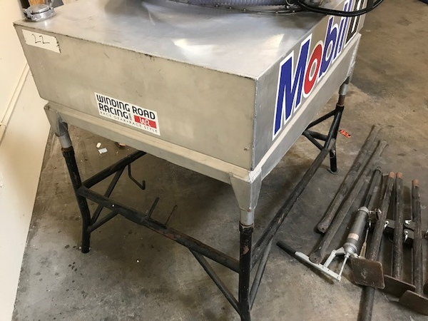 Lightweight Aluminum Gravity Fed Fuel Rig 40+ Gallons, Incl  for Sale $1,500