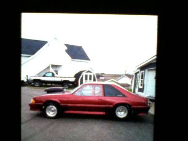 1990 Ford Mustang GT drag racing rolling  for Sale $10,000