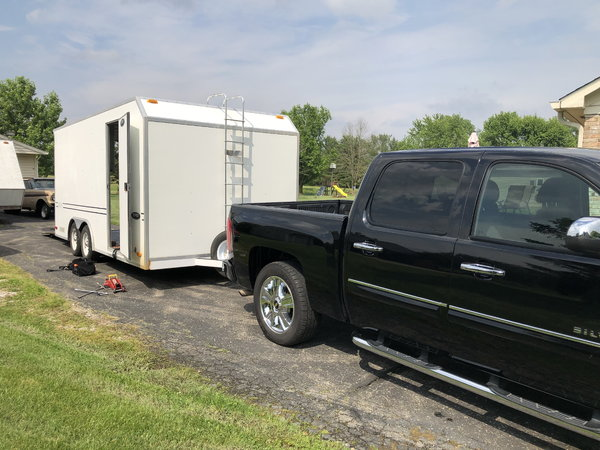 18 ft TPD all FRP floor and Wall trailer 2007  for Sale $8,000