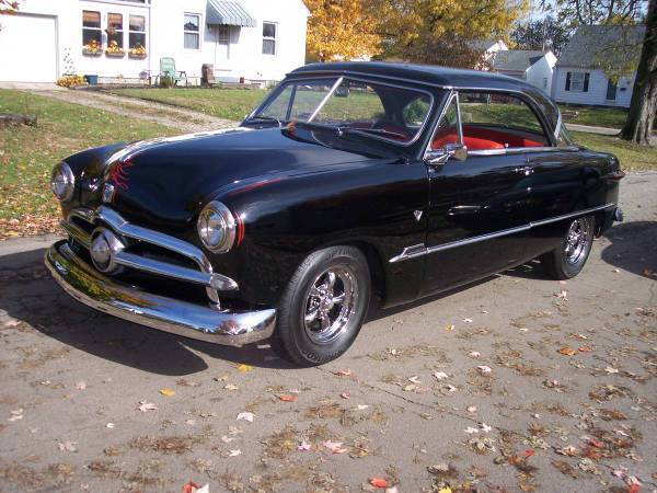 """1951 Ford Victoria 302 A.C. 9""""  for Sale $28,900"""
