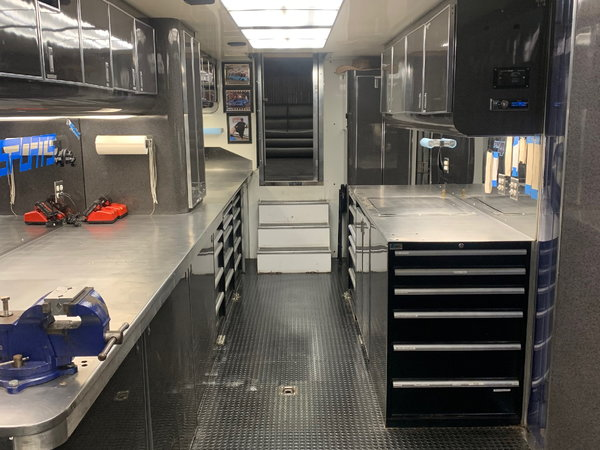 2002 56ft Competition Race Trailer (In Indiana)  for Sale $150,000