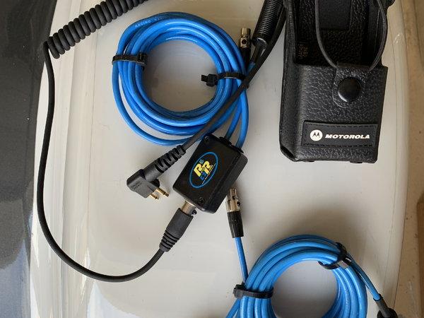 Racing Radio's Harness / Motorola Holster for Sale