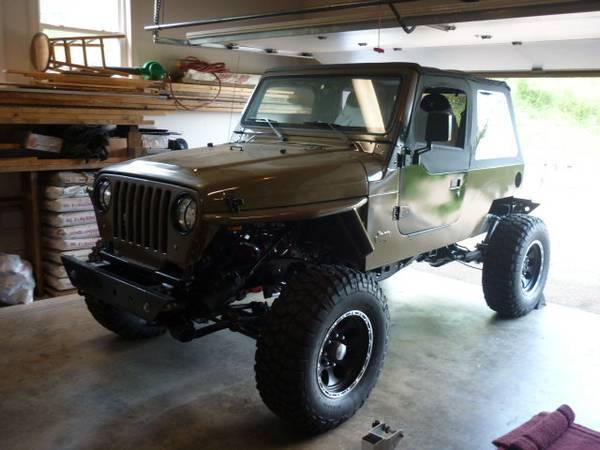 Custom Build Jeep Wrangler TJ Rock Crawler King Shocks for sale in  NASHVILLE, TN, Price: $18,500