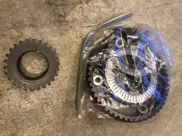 Sbc Milodon Gear drive /New Moroso mandrel   for Sale $325