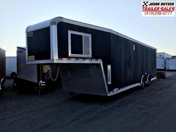 2019 United Trailers USHGN 8.5X36 Car / Racing Trailer STOCK