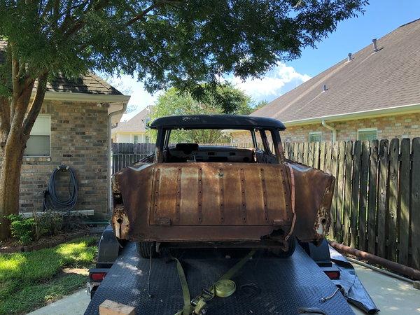 1957 Chevrolet Nomad  for Sale $9,250
