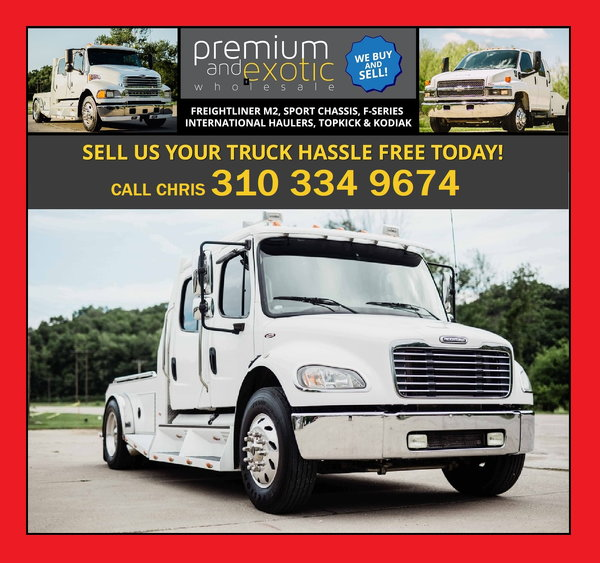 LOOKING TO SELL YOUR HAULER - INSTANT OFFER -   for Sale $55,000