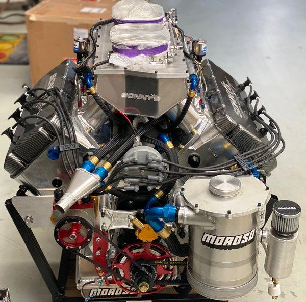 New Sonny's 903ci Hemispherical Headed EFI Engine $ 89,500  for Sale $84,900