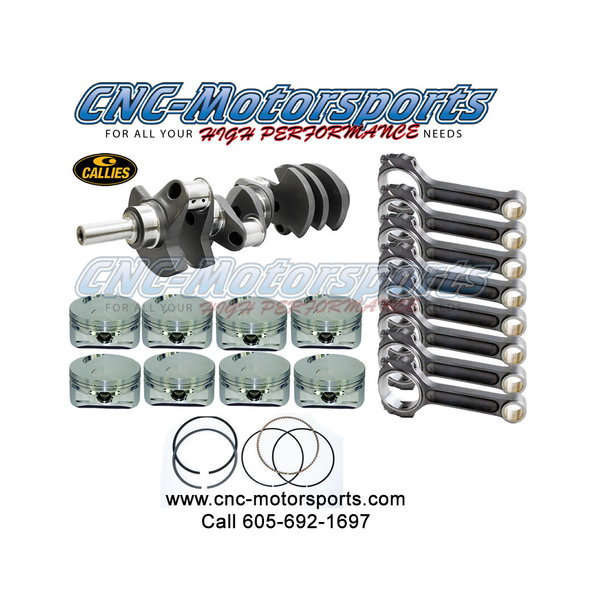 BBF 572-598 STROKER KIT - CALLIES CRANKSHAFT - OLIVER RODS  for Sale $4,729