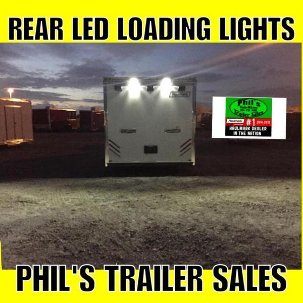 32' HAULMARK RACE TRAILER WITH NEW UPGRADED CABS Extra ht IN  for Sale $25,999