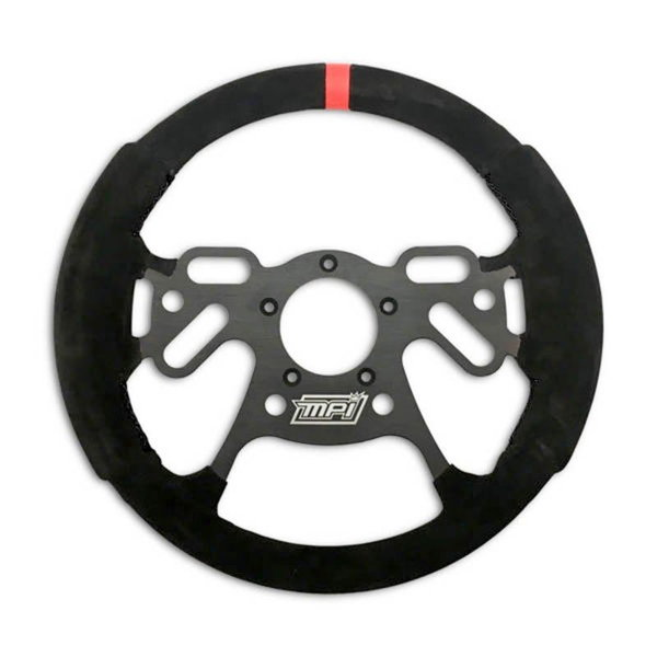 13″ MPI Lightweight Aluminum Steering Wheel with suede  for Sale $249