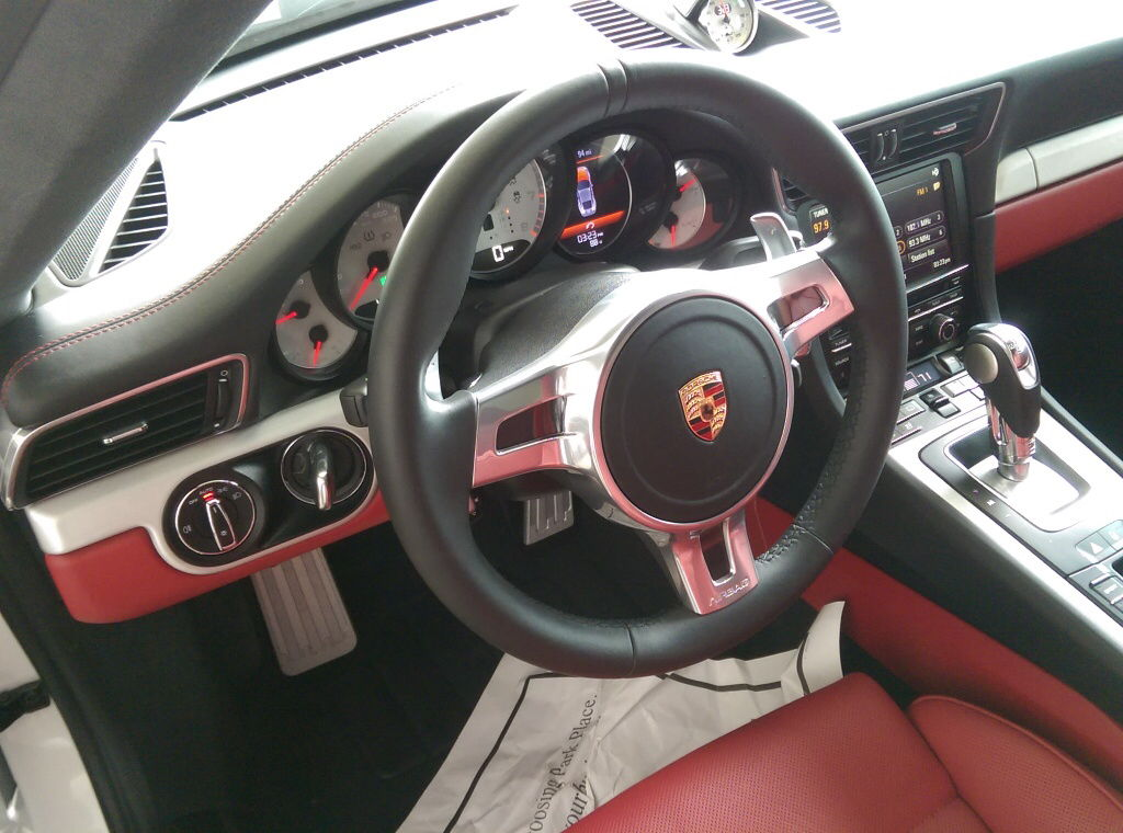 Selling 991 1 Sport Design Steering Wheel And Leather
