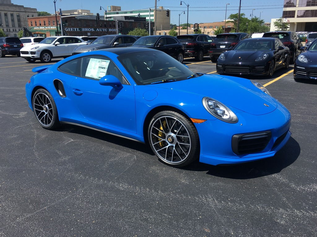 Dealer Inventory 2017 Porsche 991 2 Turbo S Coupe Paint To