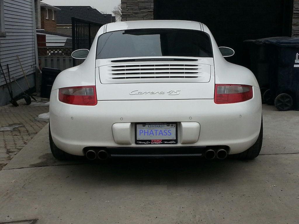 Upgrade Rear Diffuser 997 1 Rennlist Porsche