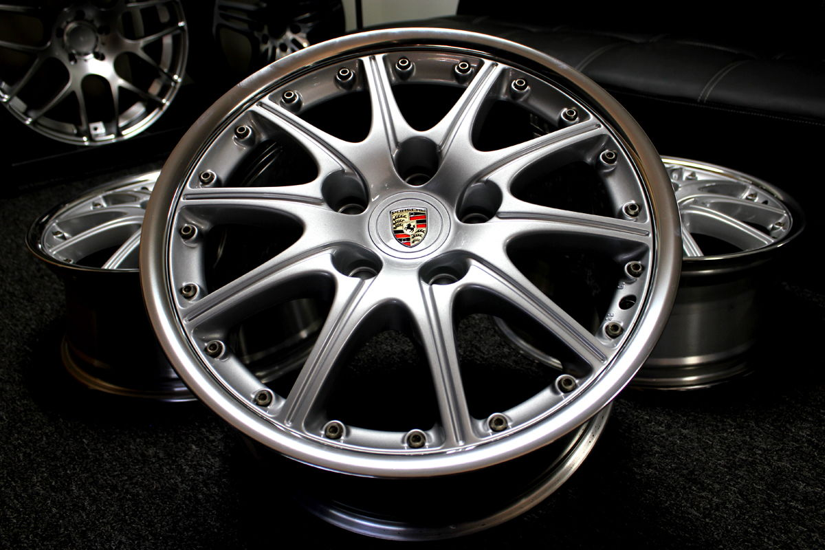 Porsche 18 Quot Bbs 2 Pc 10 Spoke Sport Design Wheels Rims