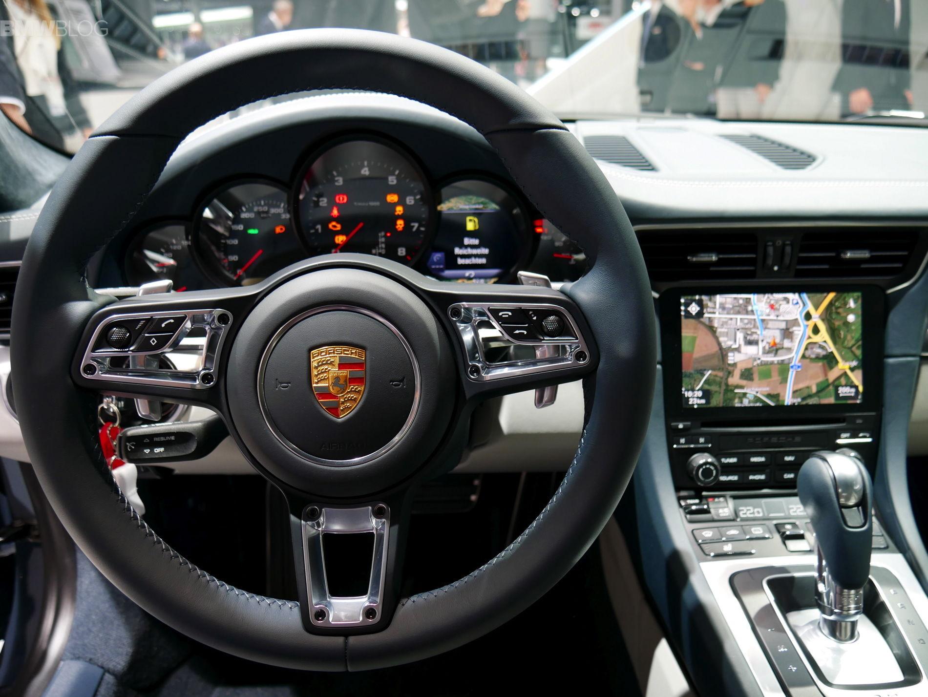 New Multifunction Sport Steering Wheel In An 981