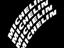 4 MICHELIN TIRE DECALS AND APPLICATION KIT (NEW)