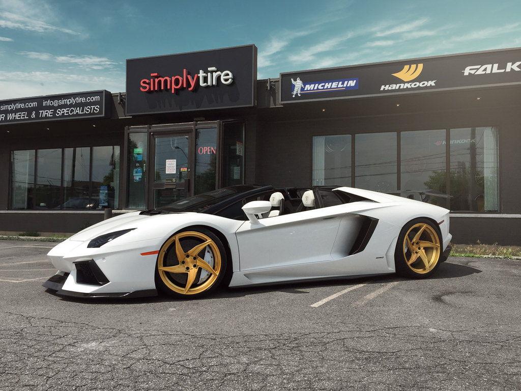 lamborghini aventador roadster velos d5 forged wheels 6speedonline porsche forum and. Black Bedroom Furniture Sets. Home Design Ideas