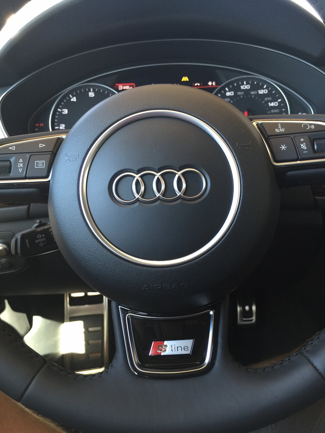 How To Install S Line Steering Wheel Emblem Audiworld Forums
