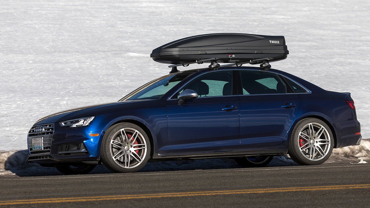 08-15 Rear 2 Bike Carrier Car Rack To Fit Audi A4 Avant