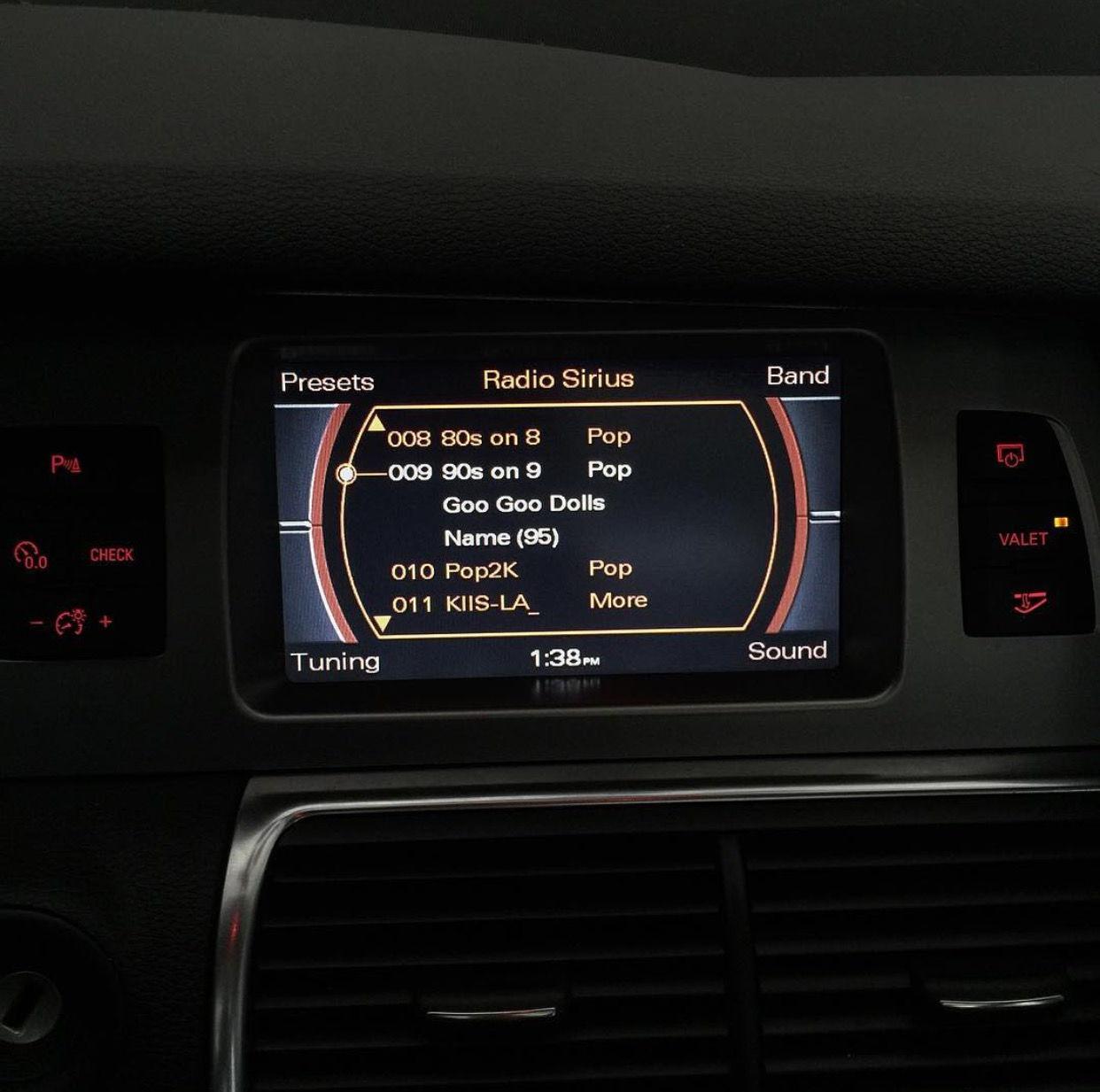 How Does Valet Mode Work AudiWorld Forums - Audi car valet