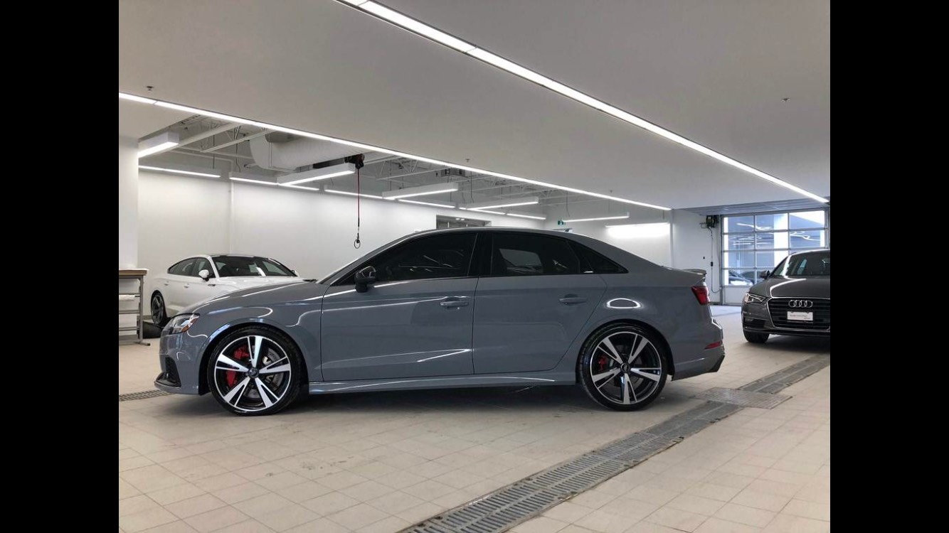 Picked up this beauty 2018 Nardo Grey RS3 - AudiWorld Forums