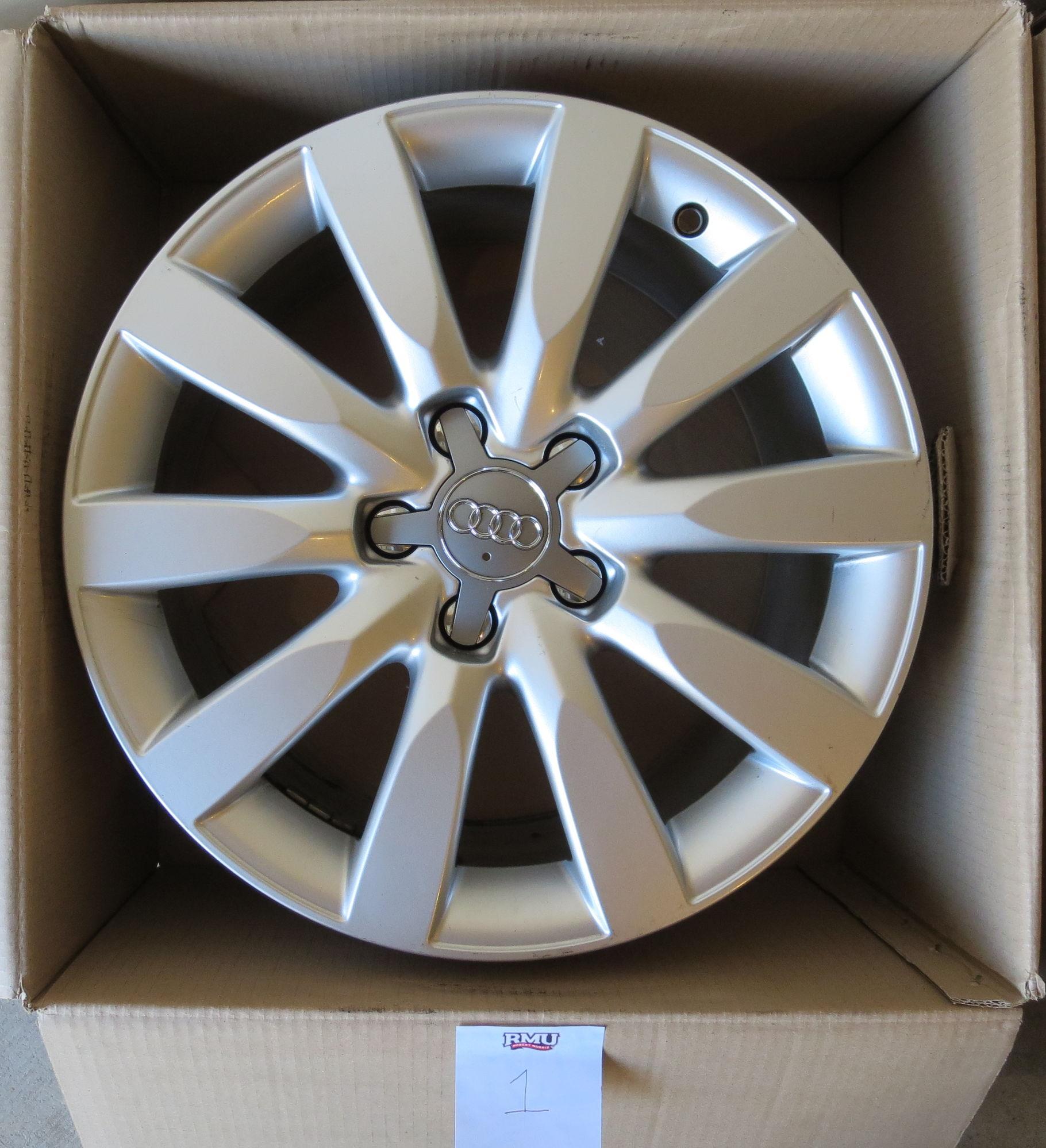 """Audi A4 OEM Audi 17"""" Wheels 2009+ B8 A4/S4"""