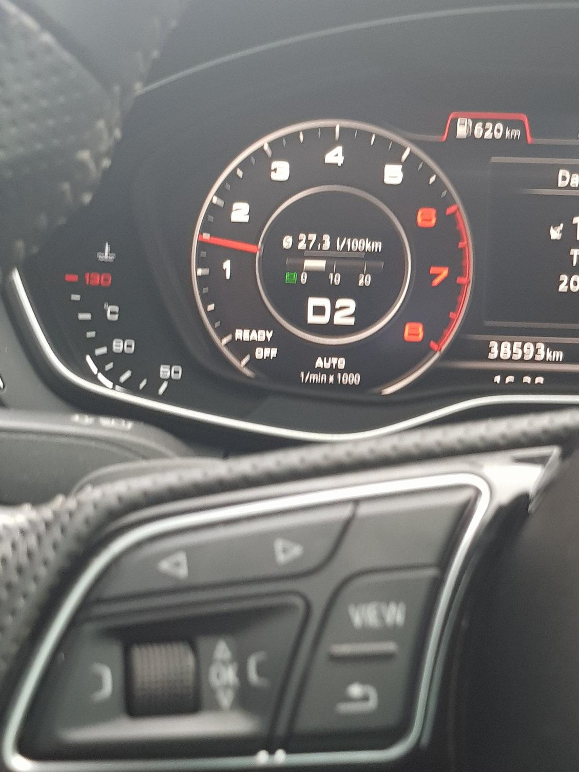Fuel consumption at idle    A problem? - AudiWorld Forums