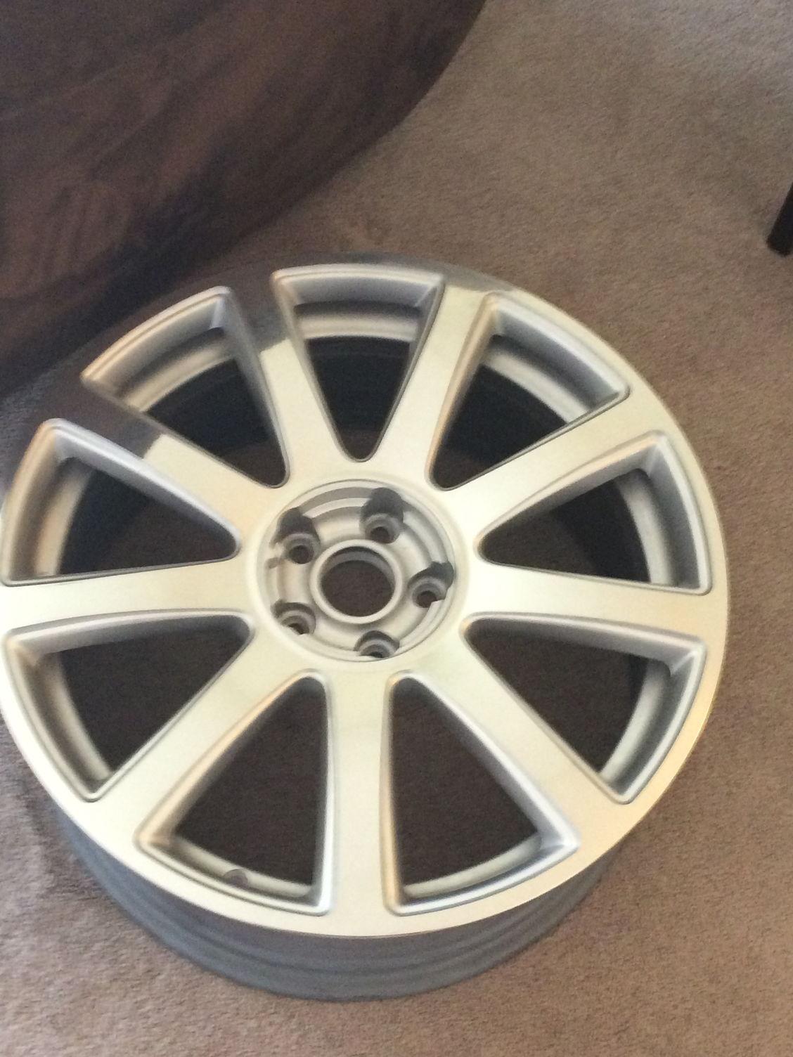 Correct tire setup for W12 20inch wheel? - AudiWorld Forums