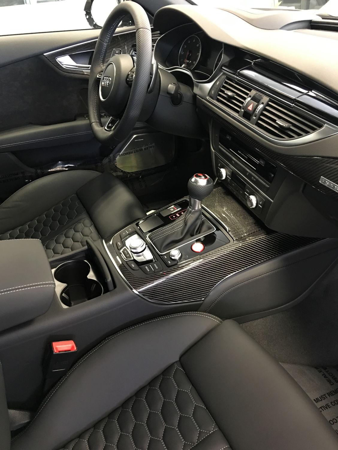 Audi Dealership Atlanta >> Audi Other Nardo Gray 2016 RS7 with Carbon Fiber ...