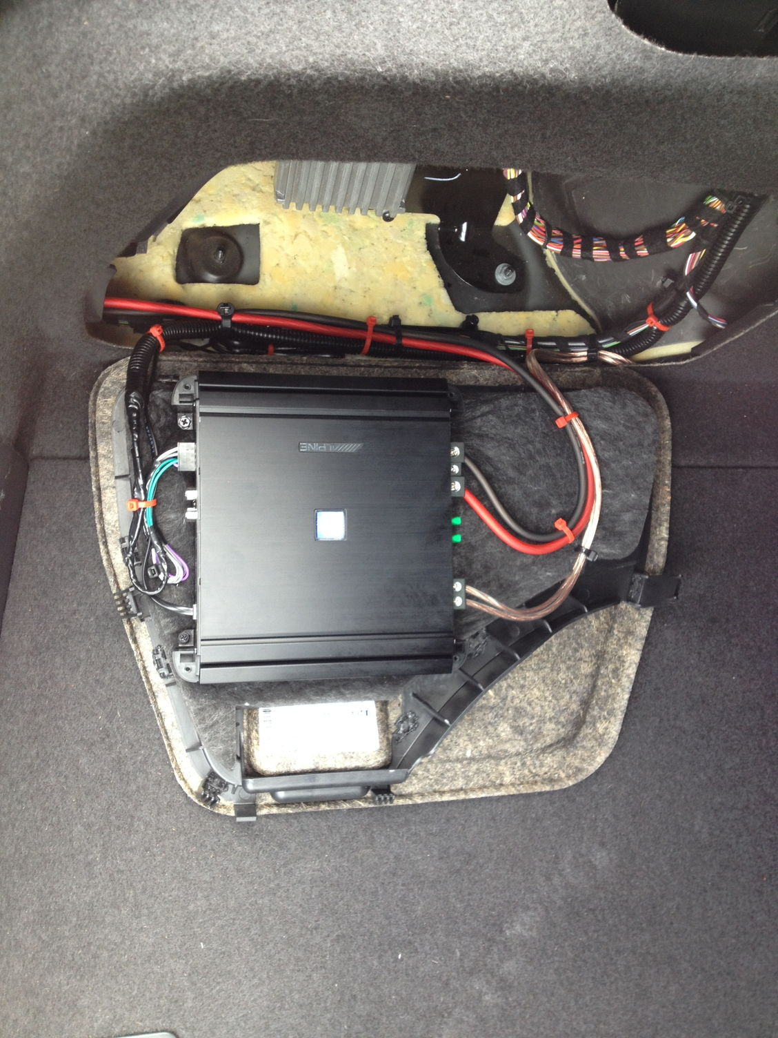 2014 S4 Non B&O Aftermarket Subwoofer and Amp Install - AudiWorld Forums
