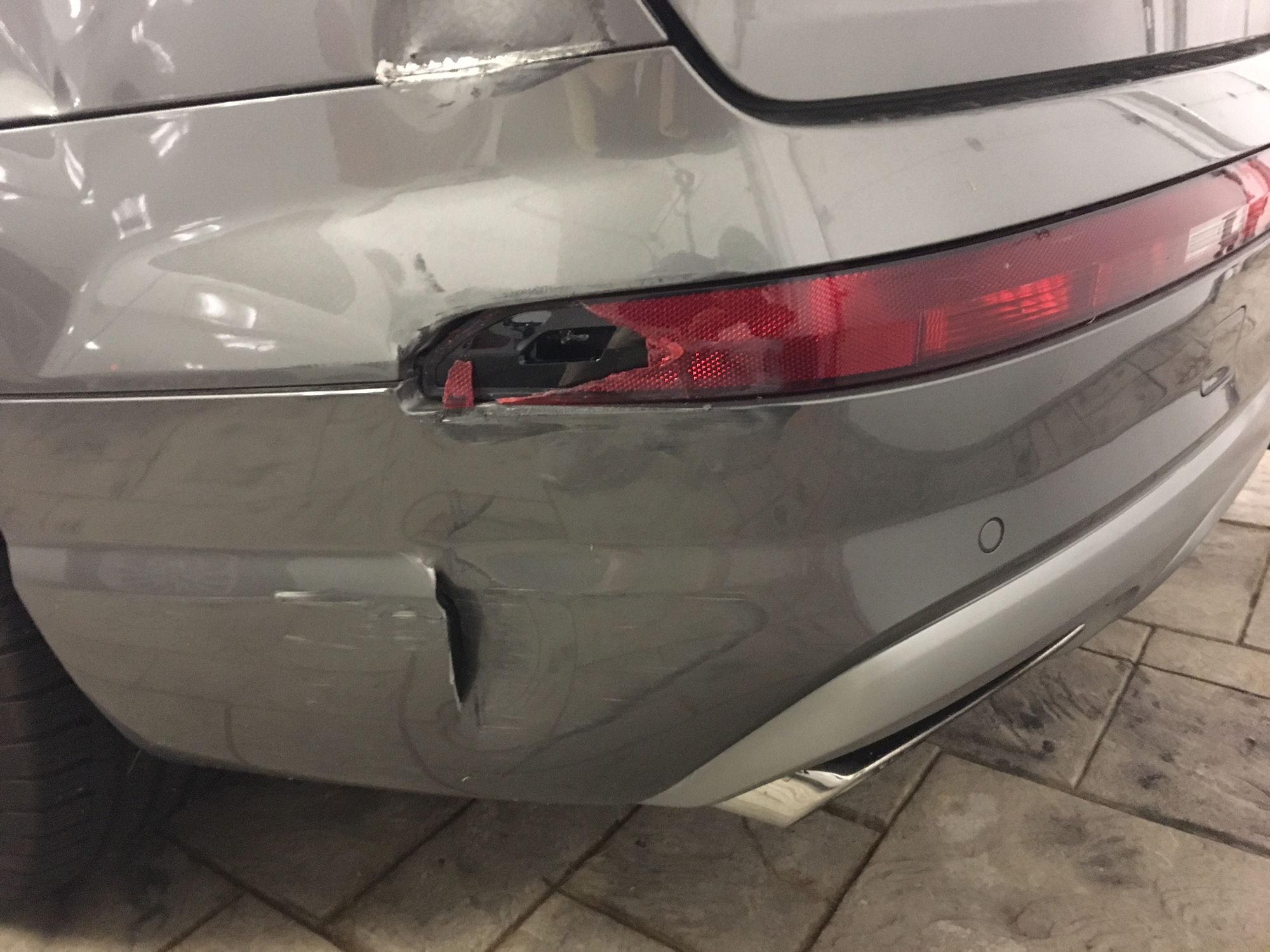 Repair Estimate - rear bumper covers and left quarter panel - AudiWorld Forums
