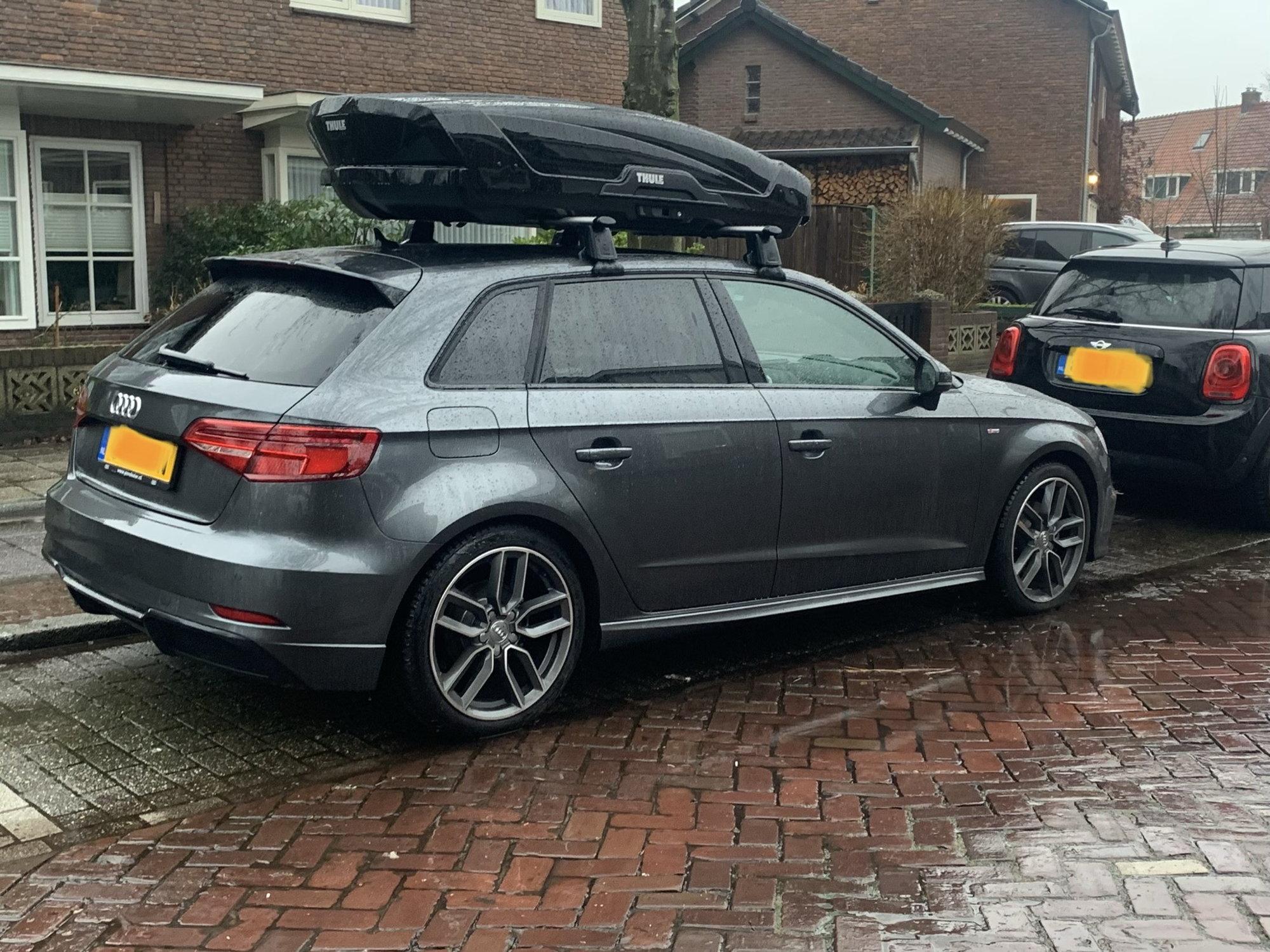 Thule Motion Xt >> Thule Motion XT L on Audi S3 - AudiWorld Forums