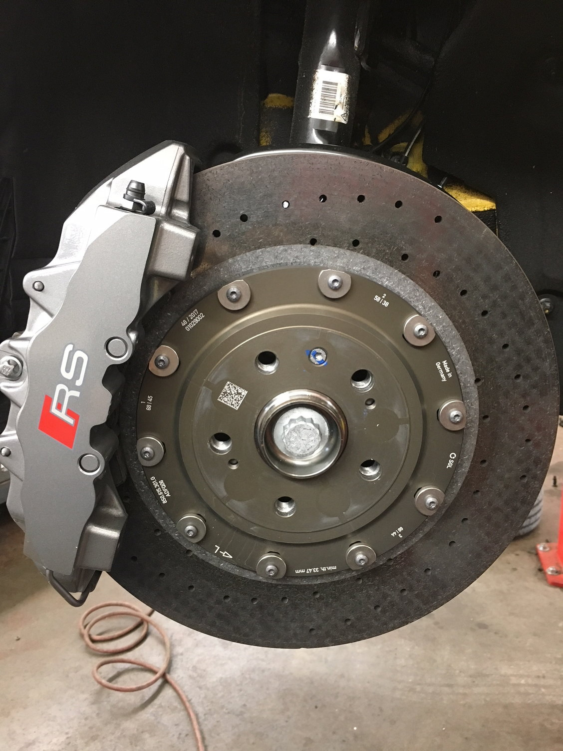 Carbon-ceramic brakes: Warning and Rant - AudiWorld Forums