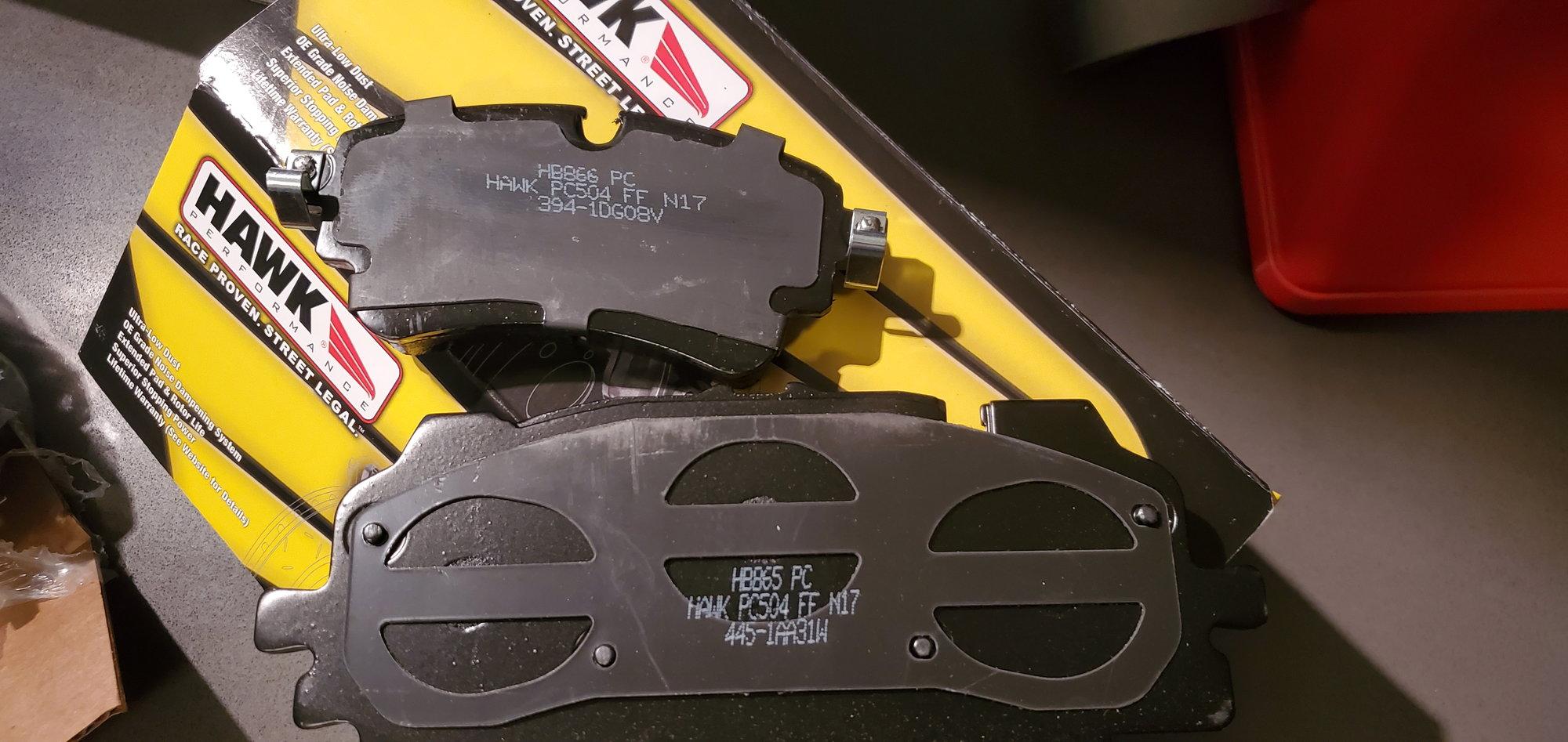Hawk Performance HB865Z.620 Street Brake Pads