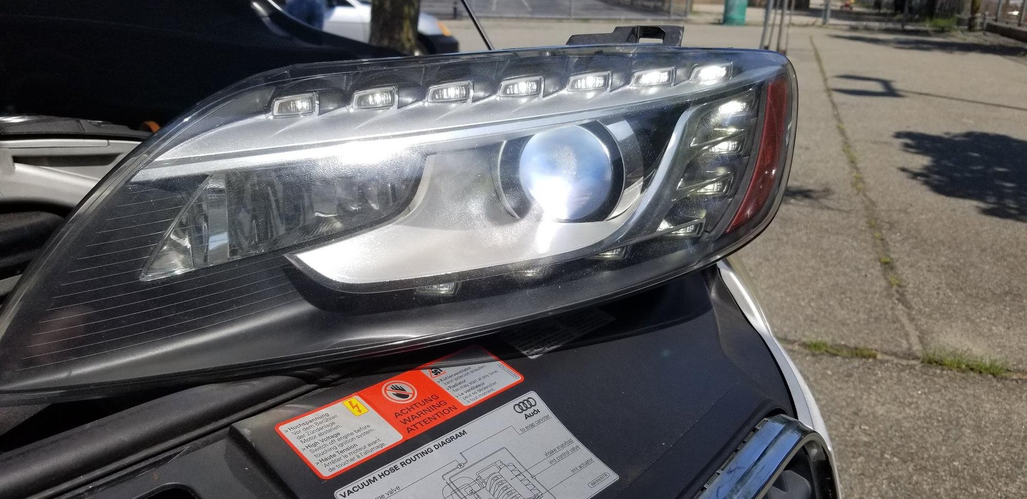 2009 Audi Q7 LED Headlight Retrofit - AudiWorld Forums   Audi Q7 Headlight Wiring Diagram      AudiWorld
