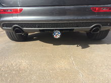 Frame Hitch Install, Painted Exhaust tips