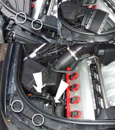 Oil Cooler coolant leak repair - AudiWorld Forums