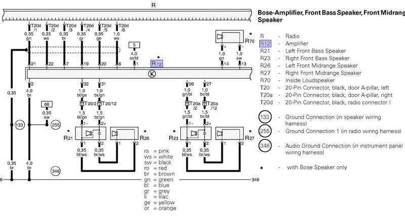 audi radio wiring diagram audi wiring diagrams online