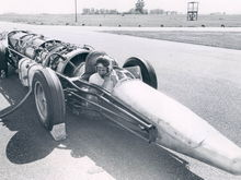 jet powered dragster