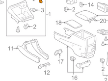 In this diagram, i need the part number 11 for the the new one I purchased.