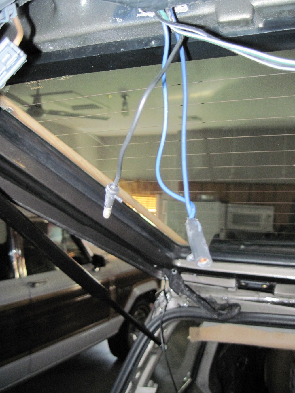 Rear-hatch wiring? - Jeep Cherokee Forum
