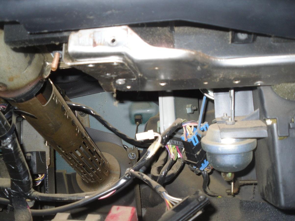 jeep cherokee under dash wiring 57 chevy under dash wiring underdash wiring, where do these 2 plugs go? picture ... #10