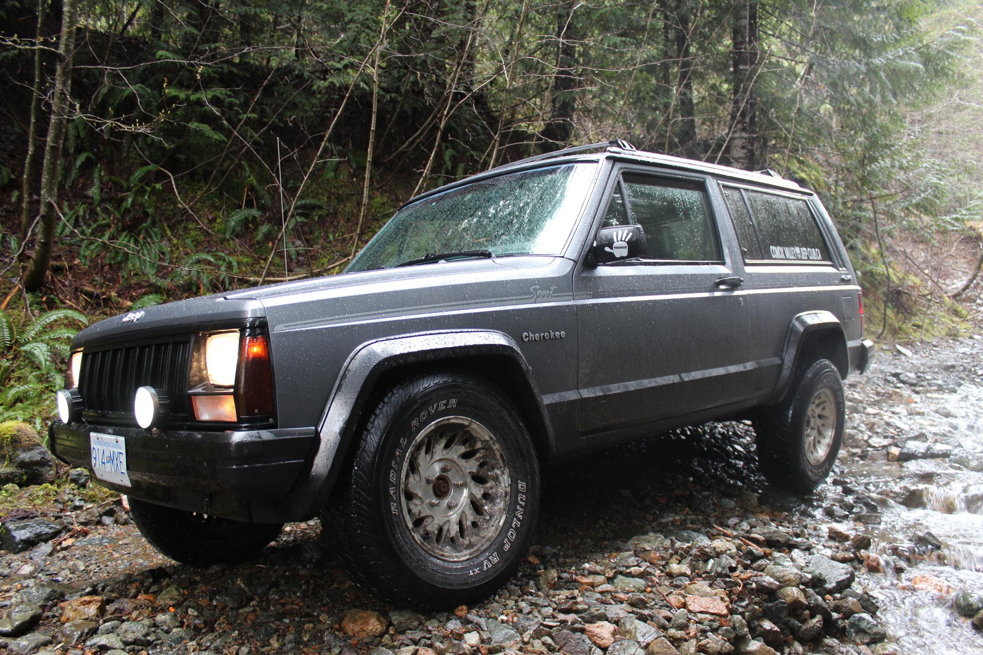 92 2 door XJ budget daily/weekend wheeler build - Jeep
