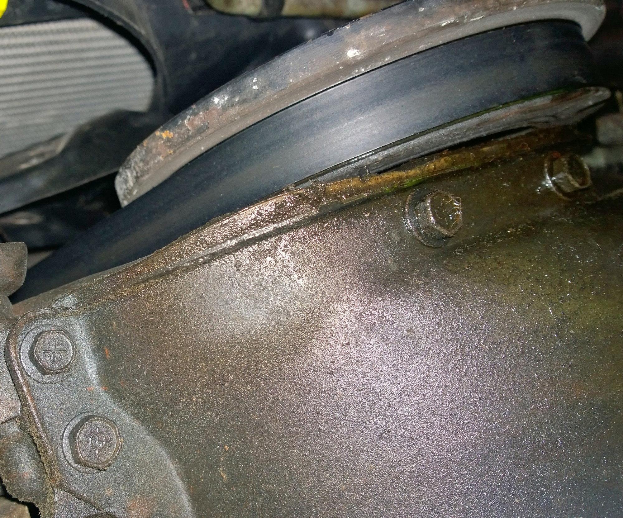 Oil pan gasket mess! - Jeep Cherokee Forum