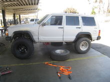 7 inch lift goes on