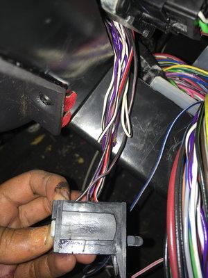 1999 XJ Under Dash Wiring-Photos Included - Jeep Cherokee Forum
