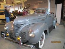 '39 Plymouth convertible